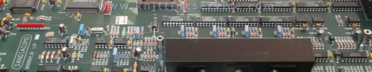 Schede elettroniche per macchine da calzetteria