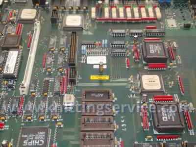 Electronic boards for hosiery machines