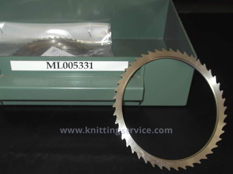 Hosiery machine saw blades 1