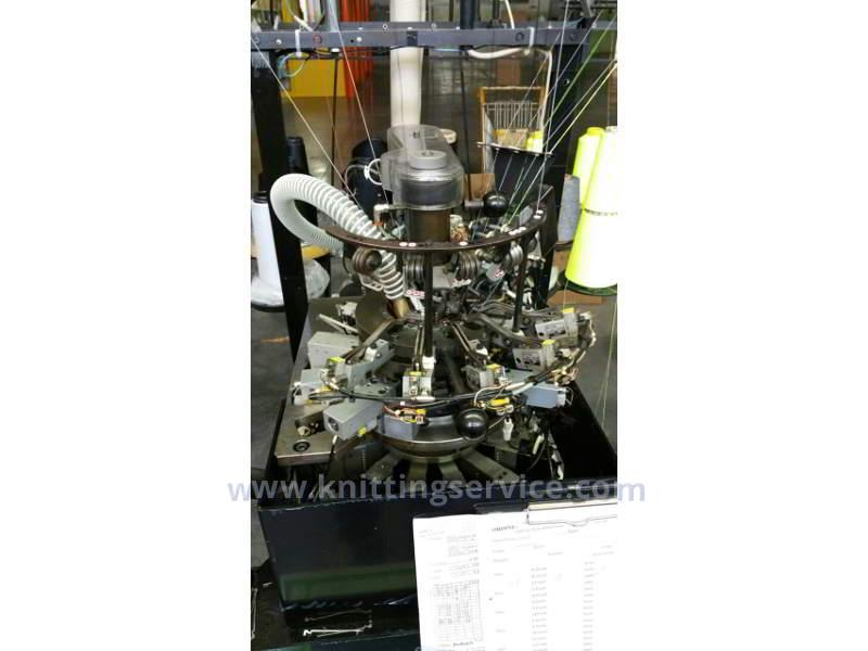 Used hosiery machine Sangiacomo Fantasia 1C F6 156 used on sale 2