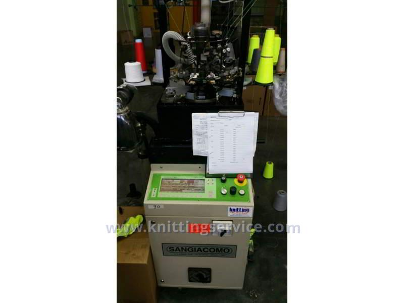 Used hosiery machine Sangiacomo Fantasia 1C F6 156 used on sale 1