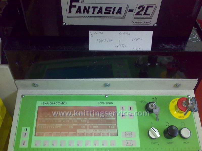 Macchina per calzetteria usata Sangiacomo Fantasia 2C Lin Toe usato in vendita 10