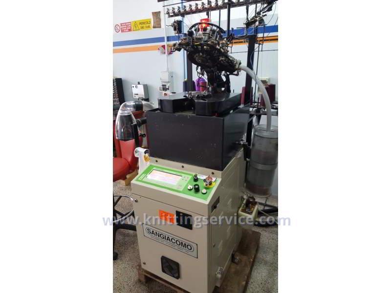 Hosiery machine Sangiacomo Fantasia LT F3 120 used on sale 10