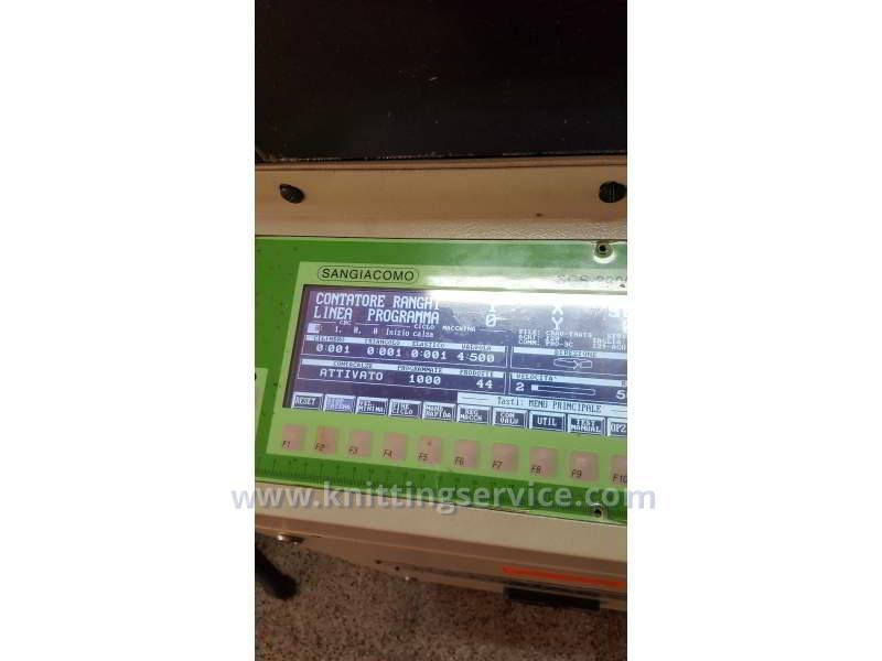 Macchina per calzetteria usata Sangiacomo Fantasia LT F3 120 usata in vendita 11
