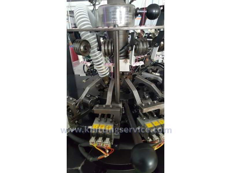 Hosiery machine Sangiacomo Fantasia LT F3 120 used  on sale 3