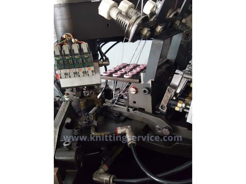 Hosiery machine Sangiacomo Fantasia LT F3 120 used on sale 4