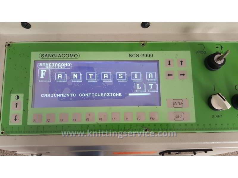 Macchina per calzetteria usata Sangiacomo Fantasia LT F3 120 usato in vendita 6