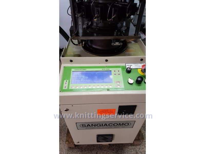 Hosiery machine Sangiacomo Fantasia LT F3 120 used on sale 8