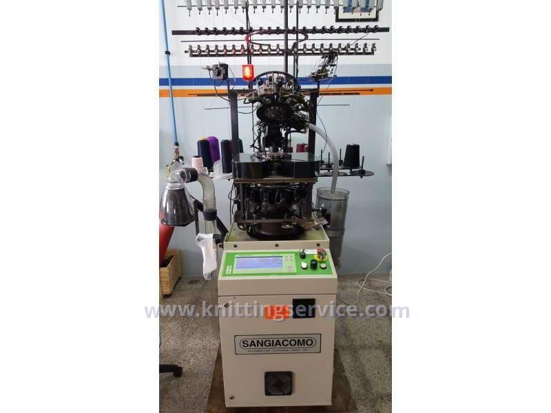 Hosiery machine Sangiacomo Fantasia LT F3 120 used on sale 1