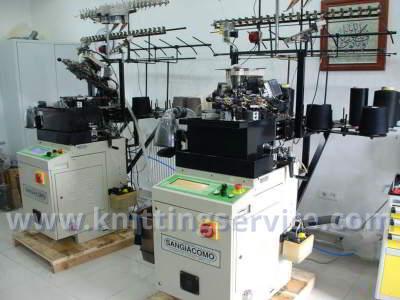 Sangiacomo STAR 40 Rib F24 112 Hosiery machine Sangiacomo STAR 40 Rib F24 112
