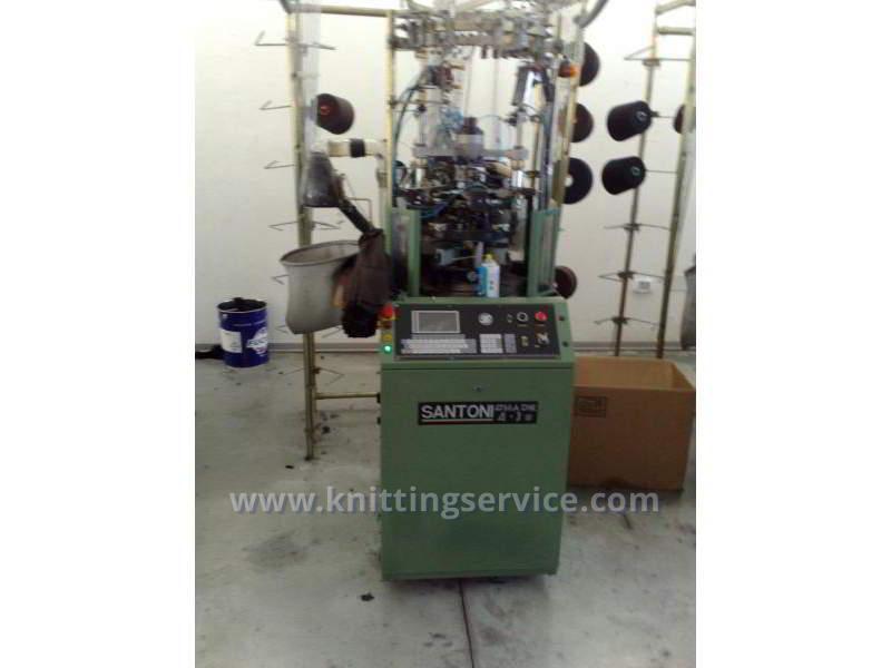 Hosiery machine Santoni Shark J4 F36 176 used on sale 3