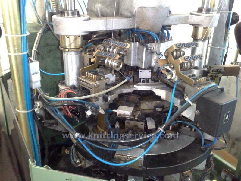 Hosiery machine Santoni Shark J4 F36 176 used on sale 4