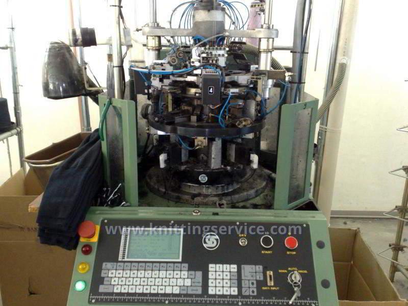 Hosiery machine Santoni Shark J4 F36 176 used on sale 5