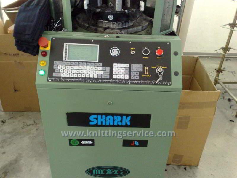 Hosiery machine Santoni Shark J4 F36 176 used on sale 6