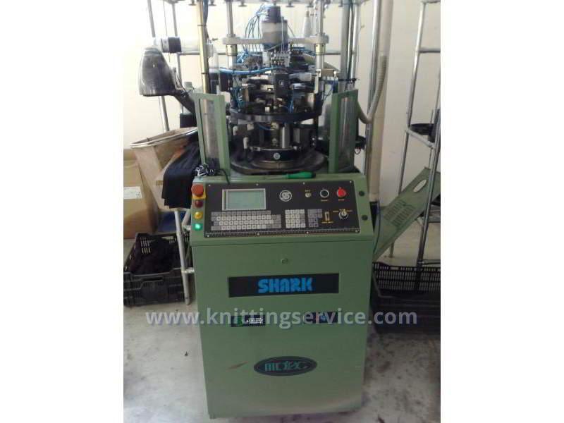 Hosiery machine Santoni Shark J4 F36 176 used on sale 1